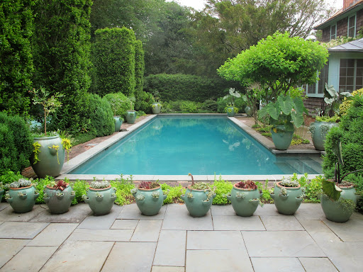 My gardens in east hampton the martha stewart blog for Pool design hamptons