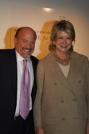 Terrific evening for the martha stewart center for living at mount