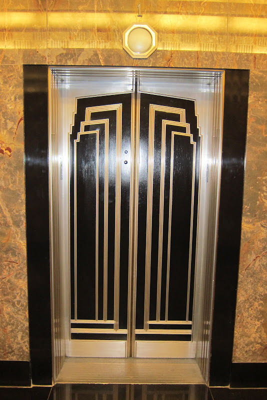 8 The Art Deco Elevator Doors