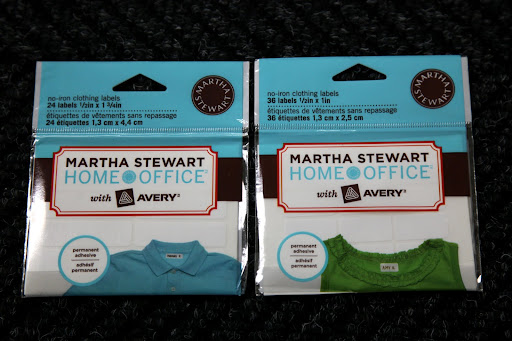 Get organized with martha stewart home office supplies for Get clothing tags made