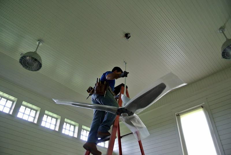 New Ceiling Fans For My Bedford Farm The Martha Stewart Blog