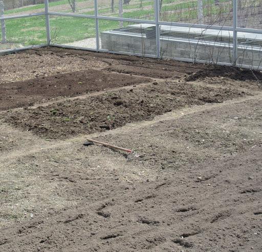 Preparing The Gardens For Planting