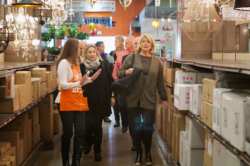 Shop By Room At The Home Depot: Visiting The Home Depot In Vauxhall, New Jersey