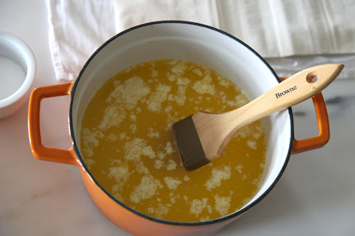 how to make liquid butter