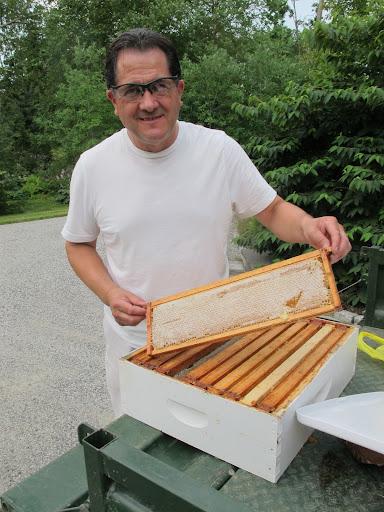 Extracting Honey at my Farm