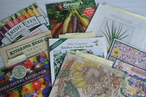 1 ordering from seed catalogs