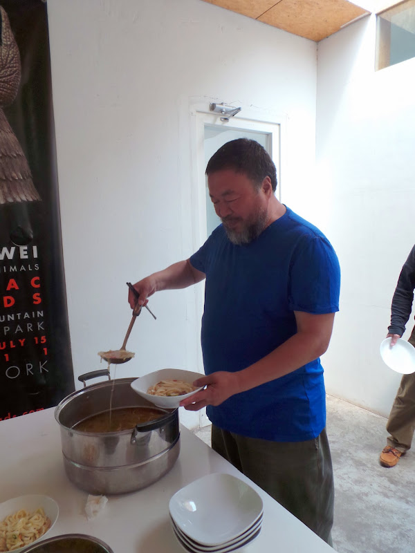 A visit with ai weiwei in beijing the martha stewart blog for Cloud kitchen beijing