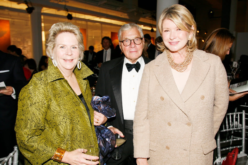 A Terrific Evening For The Martha Stewart Center For