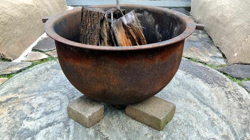 My Giant Sugar Pot Fire Pits The Martha Stewart Blog