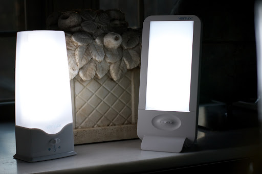 1 I love these Happy Lights by Verilux. & My Canaries Get a New Happy Light! - The Martha Stewart Blog
