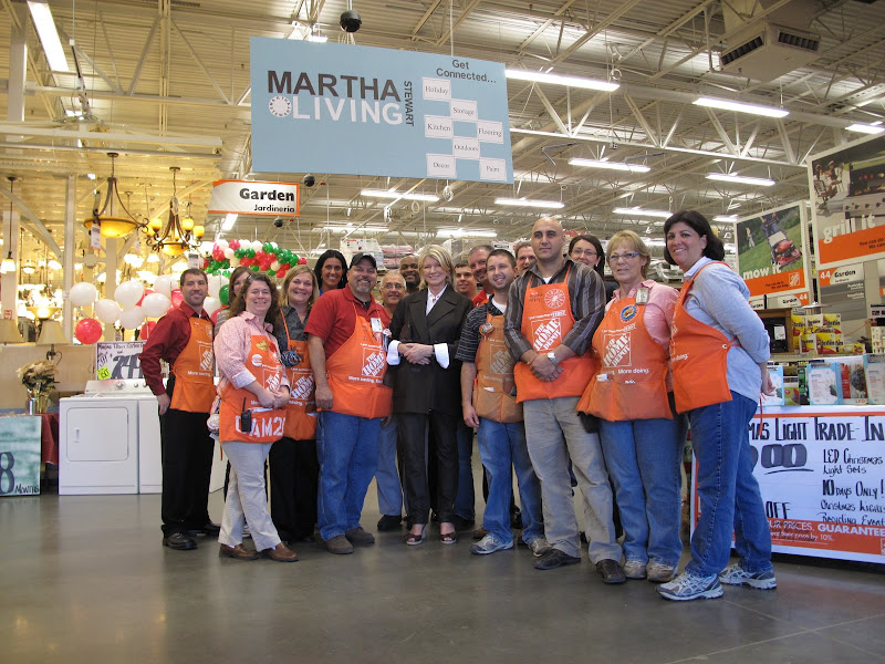 Walking the Walk at The Home Depot - The Martha Stewart Blog