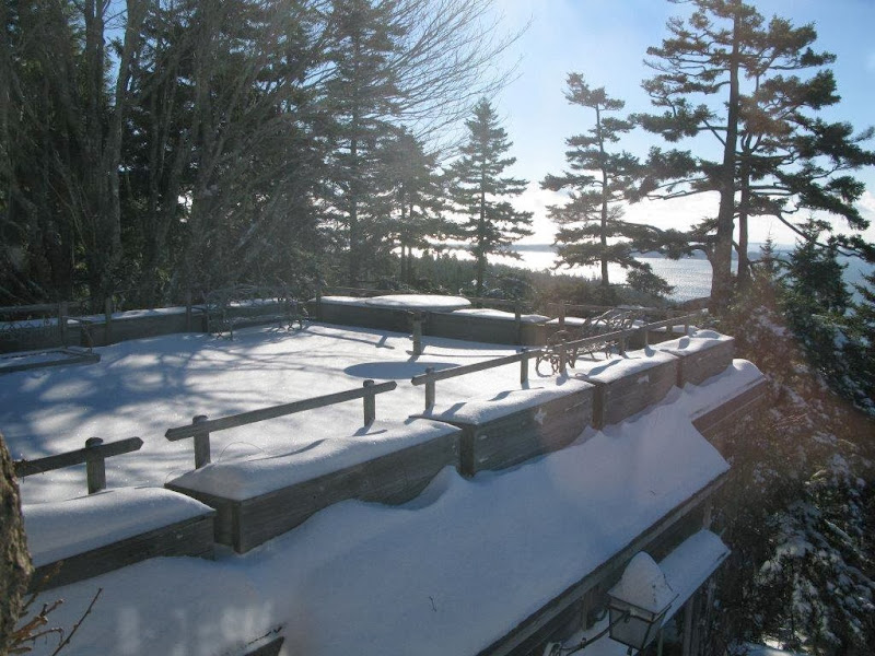 Snowy shots of maine from cheryl dulong the martha for 23 woodlands terrace