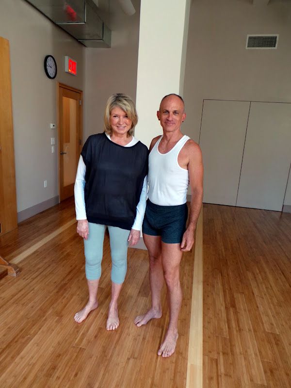 Training at the Iyengar Yoga Institute of New York - The Martha