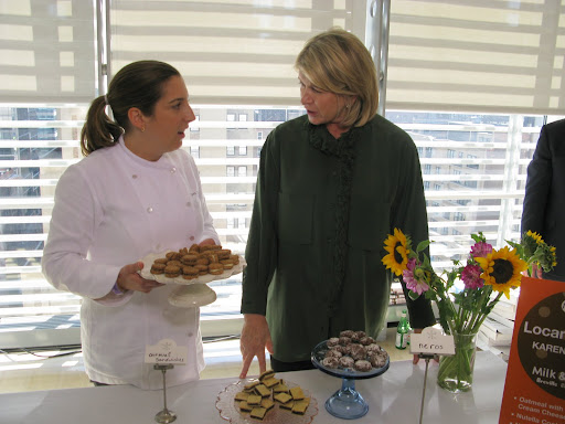 Pastry chef Karen DeMasco of Locanda Verde offered tasty oatmeal white ...