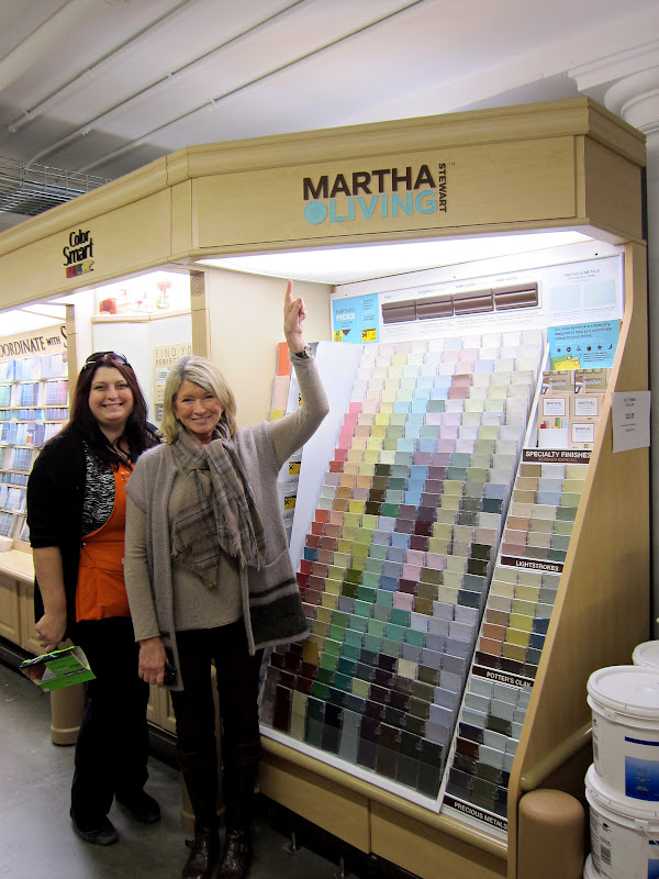 e18c4c74638 Mixing My Paint Colors At The Home Depot! - The Martha Stewart Blog