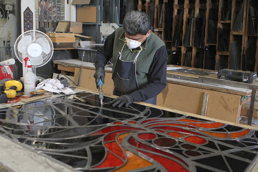 A Tour Of Rohlf S Stained And Leaded Glass Studio The